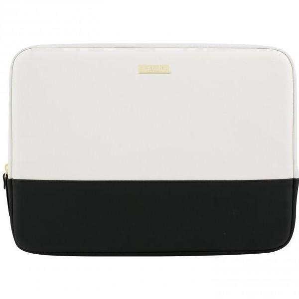 official online store to buy kate spade new york color block sleeve for macbook upto 13 inch - black/cement/gold. Free shipping australia express.
