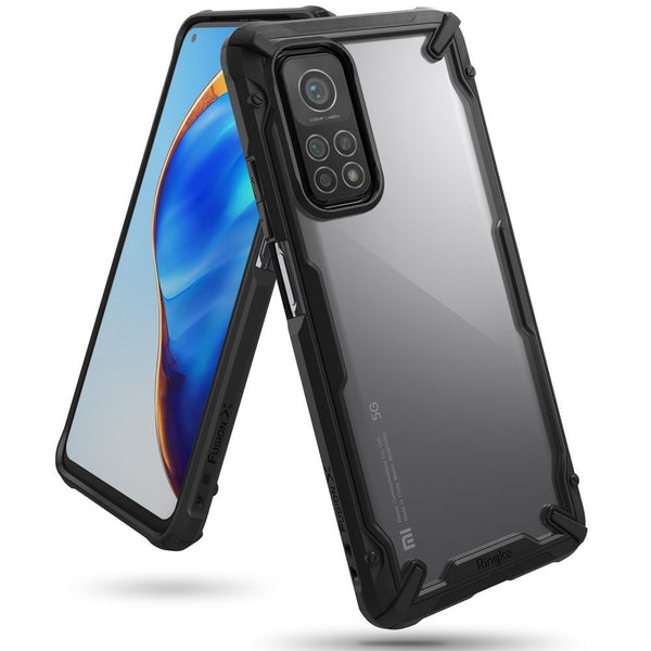 Shop online rugged case for Xiaomi Mi 10T/10T Pro with high bumper protection and black minimalist design the authentic accessories with afterpay & Free express shipping.