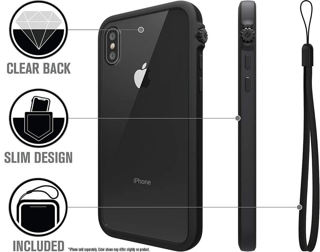 official photos f3277 d05cb CATALYST IMPACT PROTECTION CASE FOR IPHONE XS MAX - STEALTH BLACK