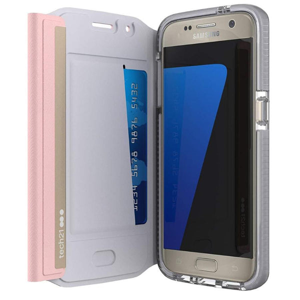 Grab it fast Evo Wallet Folio Case for Galaxy S7 - Pink FROM Tech21 with free shipping Australia wide.