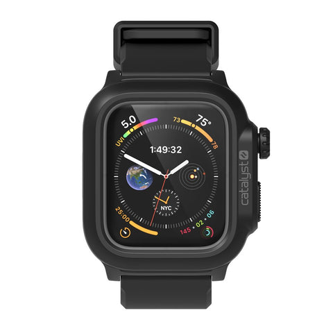 Shop Australia stock CATALYST WATERPROOF CASE FOR APPLE WATCH SERIES 4 (44MM) - BLACK with free shipping online. Shop Catalyst collections with afterpay
