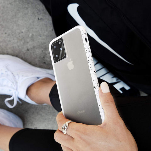 "Shop Australia stock CaseMate Tough Speckled Case For iPhone 11 Pro (5.8"") - Athletic White with free shipping online. Shop Casemate collections with afterpay"