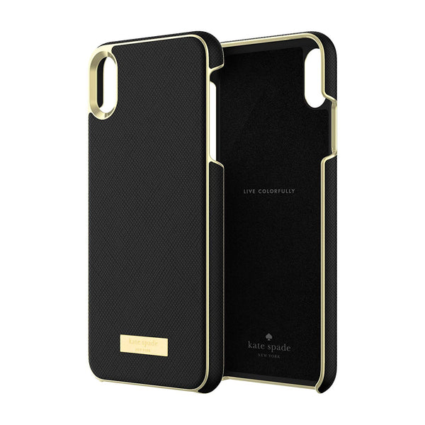 KATE SPADE NEW YORK WRAP CASE FOR IPHONE XS MAX - SAFFIANO BLACK