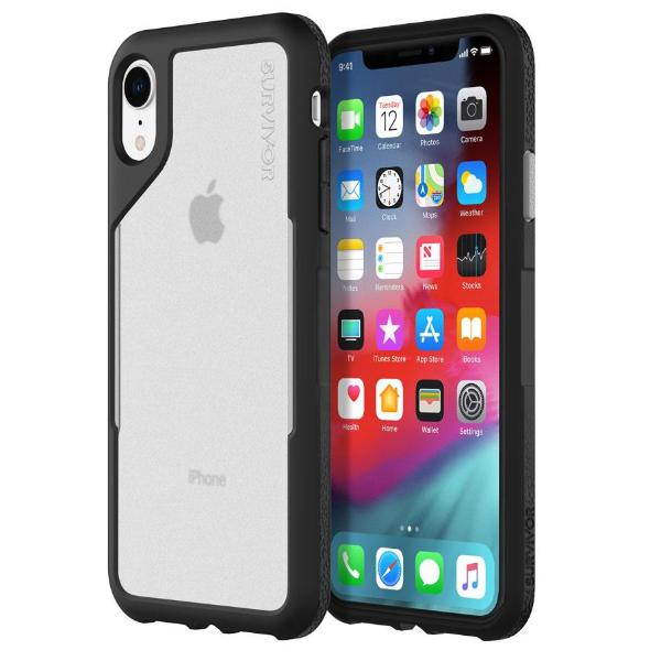 Grab it fast while stock last SURVIVOR ENDURANCE CASE FOR IPHONE XR - BLACK/GRAY from GRIFFIN with free shipping Australia wide.