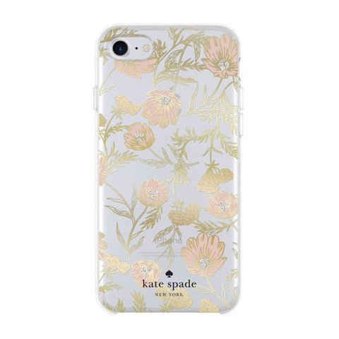 Shop Australia stock Kate Spade New York Protective Hardshell Case For Iphone 8/7/6s - Multi Blossom Pink/gold/gem with free shipping online. Shop Kate Spade New York collections with afterpay