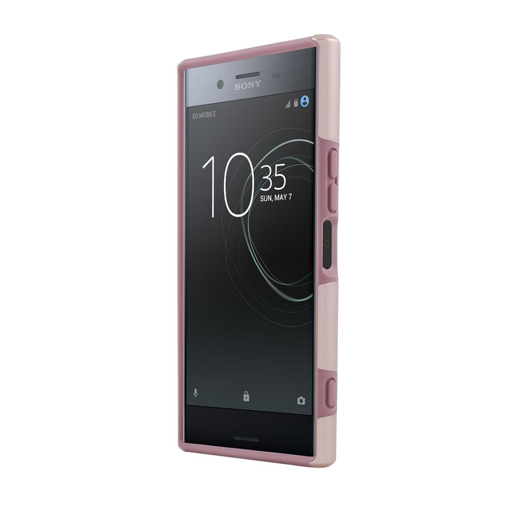 INCIPIO DUALPRO DUAL-LAYER PROTECTIVE CASE FOR SONY XPERIA XZ PREMIUM - ROSE GOLD/PINK Australia Stock