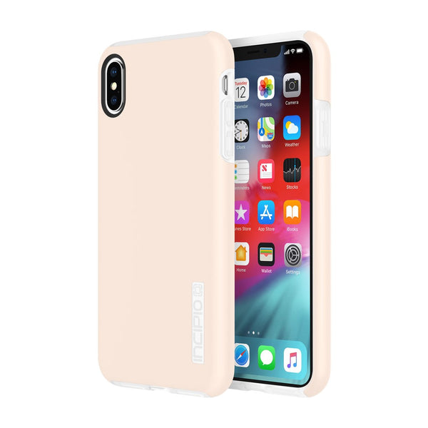 Pink iPhone Xs & iPhone X Incipio case with stylish trendy design