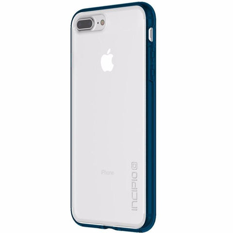 INCIPIO OCTANE PURE TRANSLUCENT CO-MOLDED CASE FOR IPHONE 8 PLUS/7 PLUS - CLEAR/NAVY