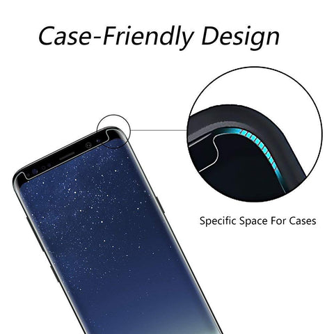 case friendly design protecting untill corner of the screen
