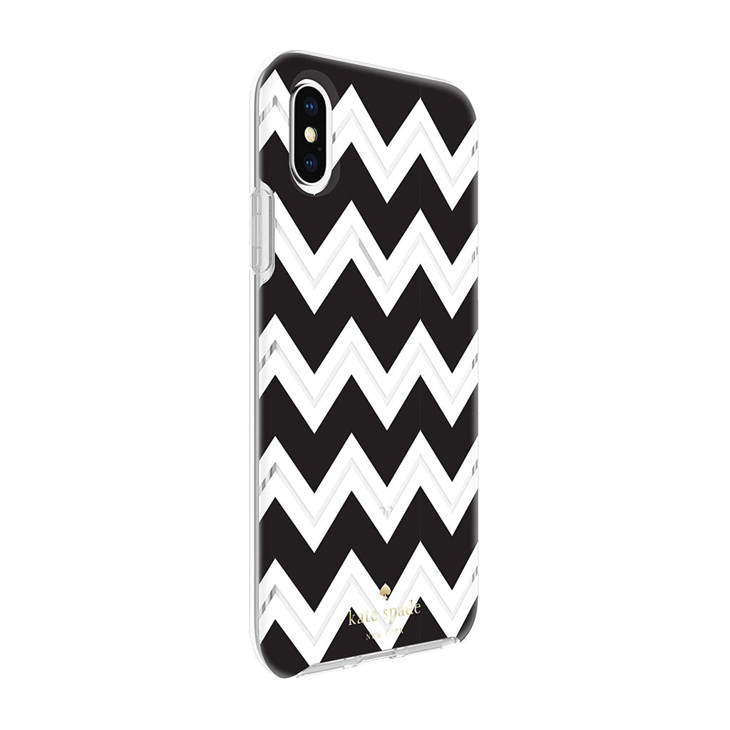 KATE SPADE NEW YORK PROTECTIVE HARDSHELL CASE FOR IPHONE XS/X - CHEVRON Australia Stock