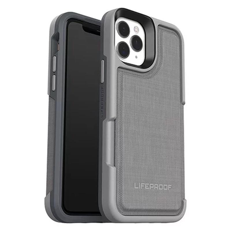 stylish grey case with magnetic design and extra storage lifeproof iphone 11 pro case Australia Stock