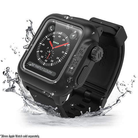 Shop Australia stock CATALYST WATERPROOF CASE FOR 38MM APPLE WATCH SERIES 3/2 - STEALTH BLACK with free shipping online. Shop Catalyst collections with afterpay
