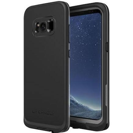buy genuine and brand new LIFEPROOF FRE WATERPROOF CASE FOR GALAXY S8 -  ASPHALT BLACK free shipping australia wide Australia Stock