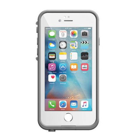 LifeProof Fre WaterProof case for iPhone 6S/6 - White