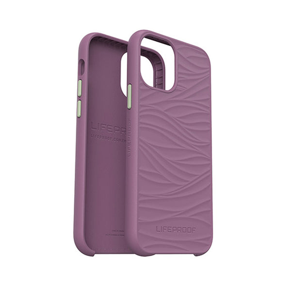 the new lifeproof wake new series for new iphone 12 and 12 pro. The maximum protection for your new phone. Purple design with free shipping