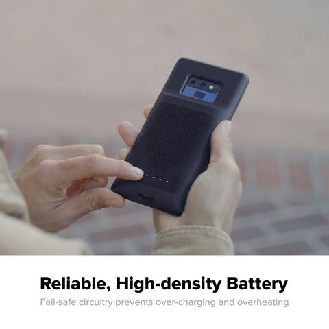 battery case for samsung galaxy note 9 from mophie. buy online and get free shipping only at syntricate australia