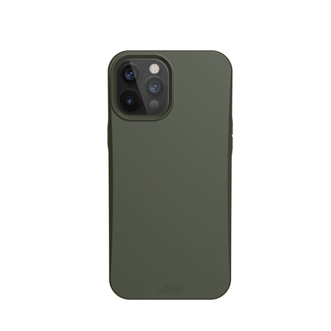 "Get the latest iPhone 12 Pro Max (6.7"") UAG Outback Biodegradable Composite Rugged Case - Olive Drab Online local Australia stock."