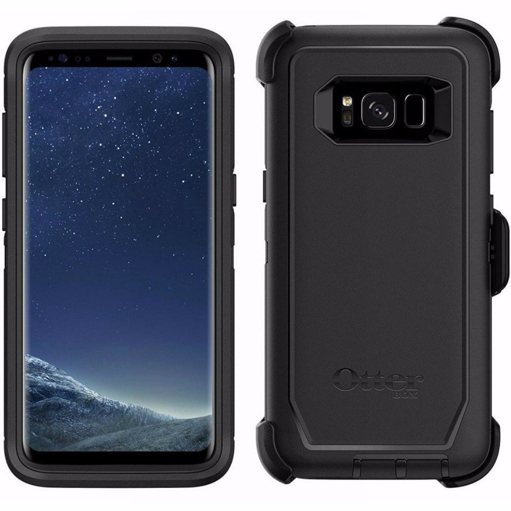 buy the authentic and original from OTTERBOX DEFENDER RUGGED CASE FOR GALAXY S8+ (6.2 inch) - BLACK. Free express shipping australia. Australia Stock