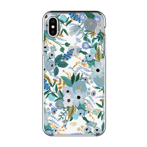 Shop Australia stock RIFLE PAPER CO. PROTECTIVE CASE FOR IPHONE XS MAX - GARDEN PARTY BLUE/CLEAR with free shipping online. Shop Rifle Paper Co. collections with afterpay