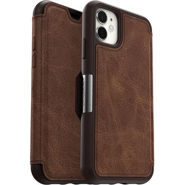 leather card slot wallet case skin for iphone 11 from otterbox huge brand
