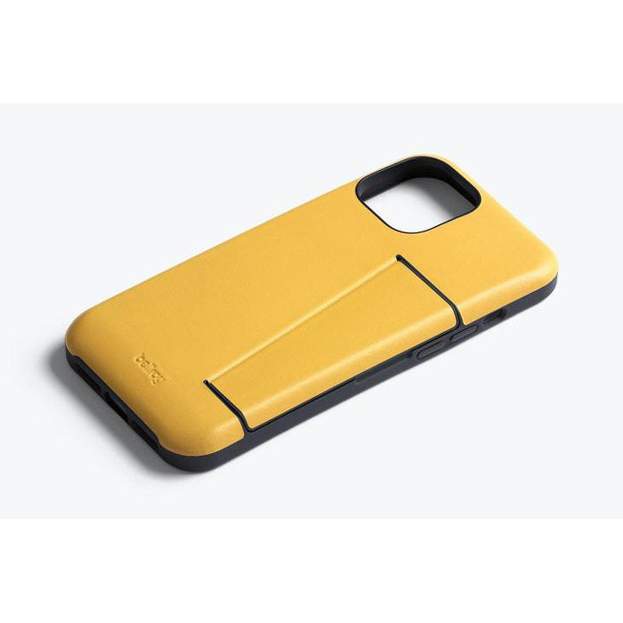 "Shop Australia stock BELLROY 3 Card Leather Case For iPhone 12 Pro/12 (6.1"") - Lemon with free shipping online. Shop Bellroy collections with afterpay Australia Stock"