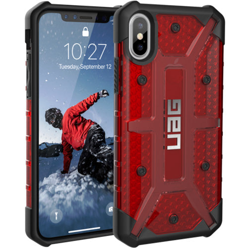 buy original, genuine and strong Uag Plasma Armor Clear Shell Case For Iphone X - Magma free shipping australia wide.