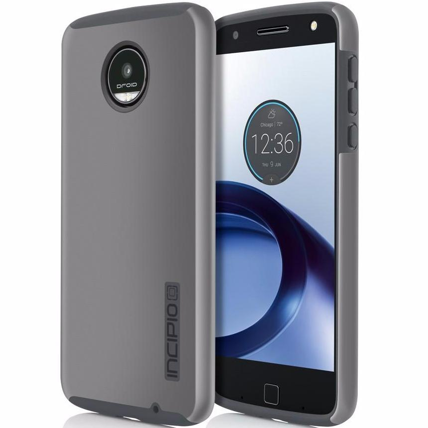 where place to buy genuine and original from authorized distributor Incipio DualPro Rugged Case for Motorola Moto Z - Grey. Free express shipping Australia wide from trusted official online store Syntricate. Australia Stock