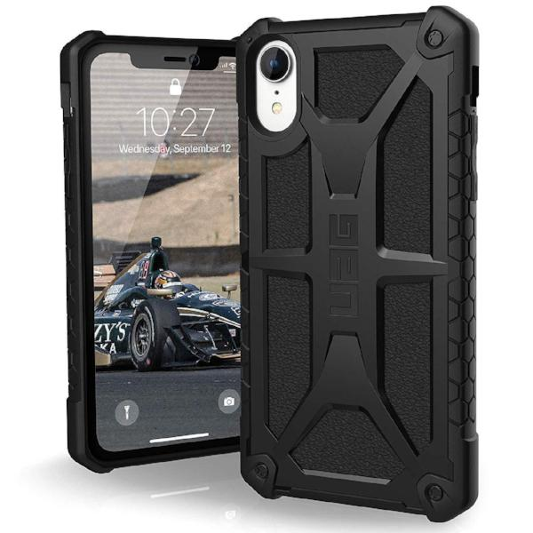 Get the latest stock MONARCH HANDCRAFTED RUGGED CASE FOR IPHONE XR - BLACK COLOUR FROM UAG  with free shipping online.