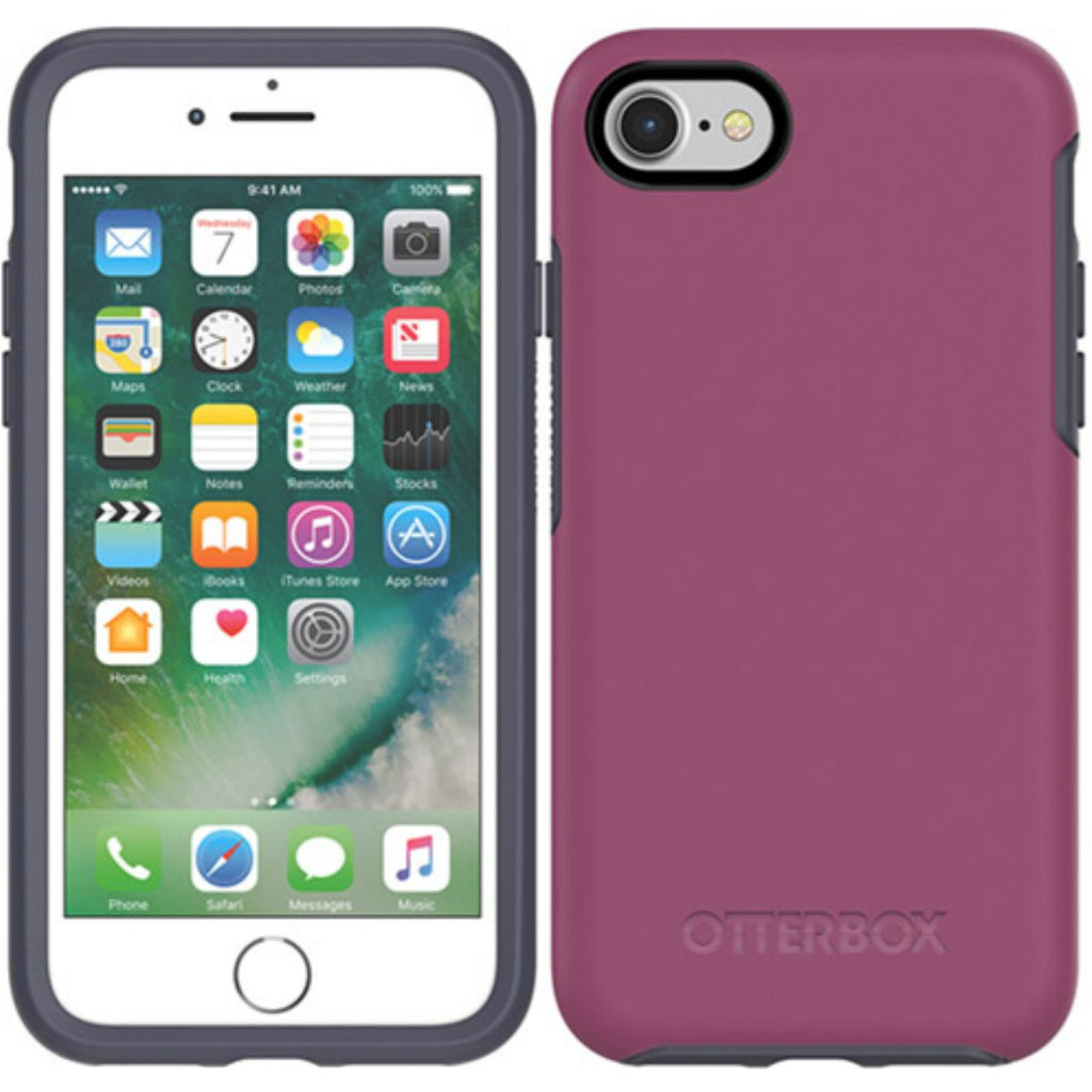 trusted online seller to buyOtterBox Symmetry Sleek Stylish Case for iPhone 8/7 - MIX BERRY JAM. Free shipping express australia from authorized distributor syntricate. Australia Stock