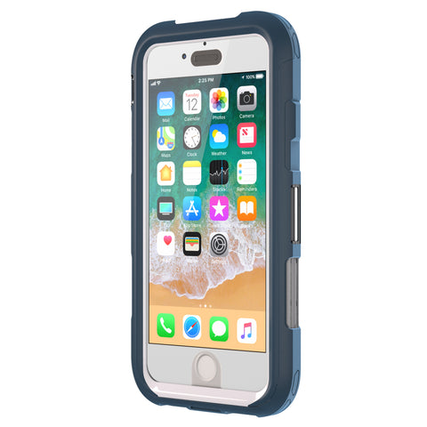 where to buy the best place trusted online store australia griffin survivor extreme case for iphone 8 plus/7 plus - deep blue/grey colour syntricate offer free shipping