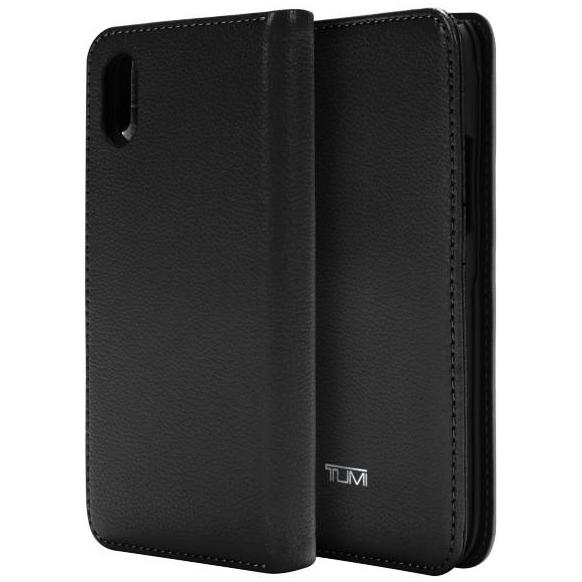 wallet card folio case for iphone xr leather black colour from tumi austrlia