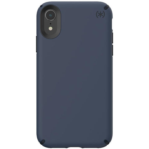 Blue SPECK PRESIDIO PRO iphone XR case