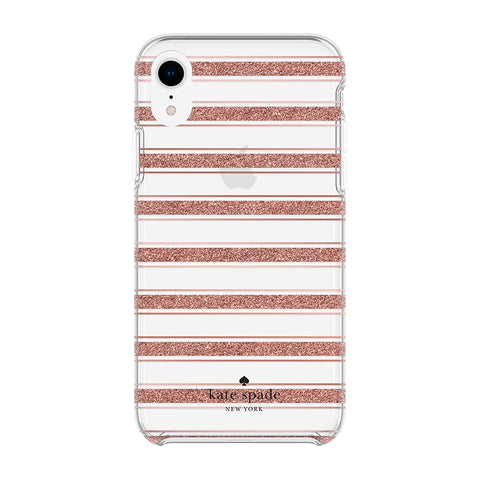 gold case with stripe pattern for iphone xr. Shop All kate spade cases collection with free Australia shipping & afterpay