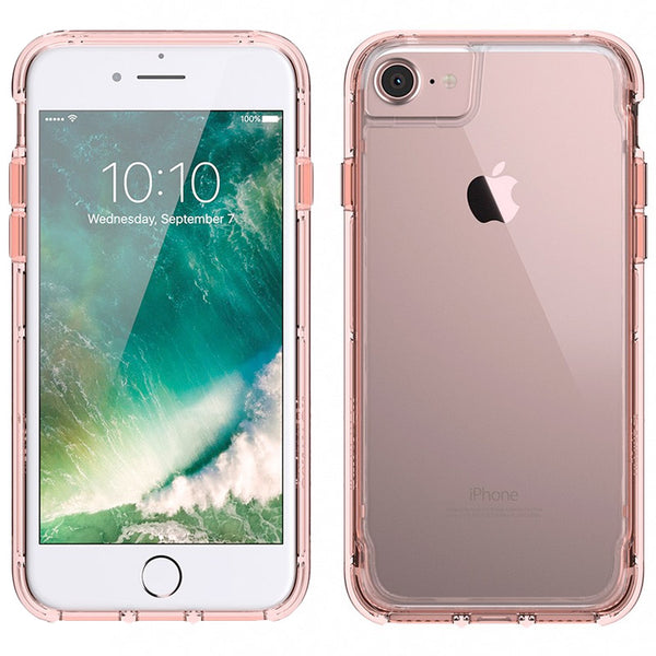 where place to buy genuine and authentic products from Griffin Survivor Clear Case for iPhone 8/7/6S - Rose Gold. Authorized distributor offer free express shipping Australia wide.