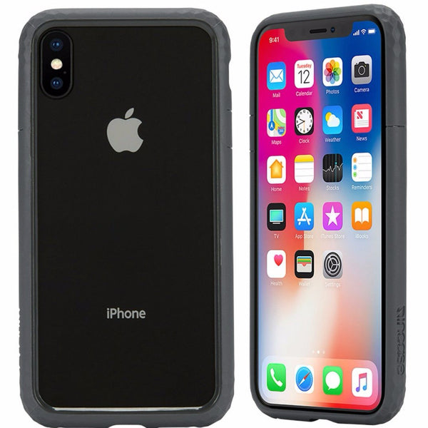 The one and only authorized distributor and trusted official online place to shop and buy Incase Frame Bumper Case For Iphone X - Gunmetal Grey. Free express shipping Australia wide on Syntricate.