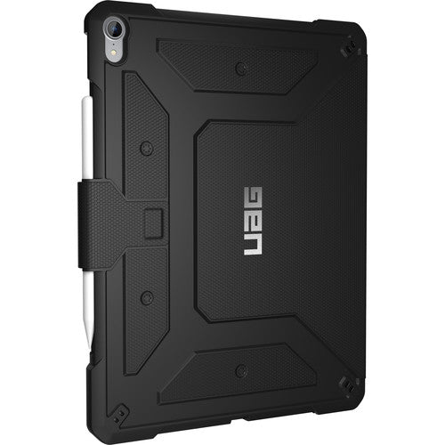 UAG METROPOLIS RUGGED FOLIO CASE FOR IPAD PRO 12.9-INCH (3RD GEN/2018) - BLACK