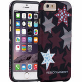 store to buy CaseMate Rebecca Minkoff Tough Print Case for iPhone 6/6S - Striped Red Stars free shipping australia