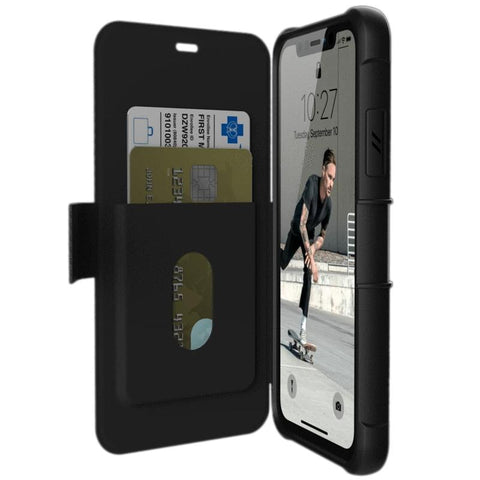 folio case wallet case for iphone 11 black colour