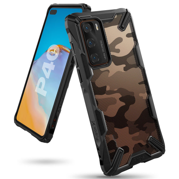 "Shop Australia stock RINGKE Fusion-X Design Rugged Slim Case For Huawei P40 5G (6.1"")- Camo Black with free shipping online. Shop Ringke collections with afterpay"
