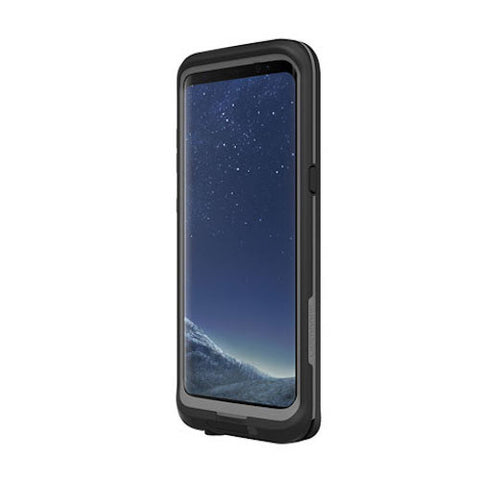 LIFEPROOF FRE WATERPROOF CASE FOR GALAXY S8 -  ASPHALT BLACK