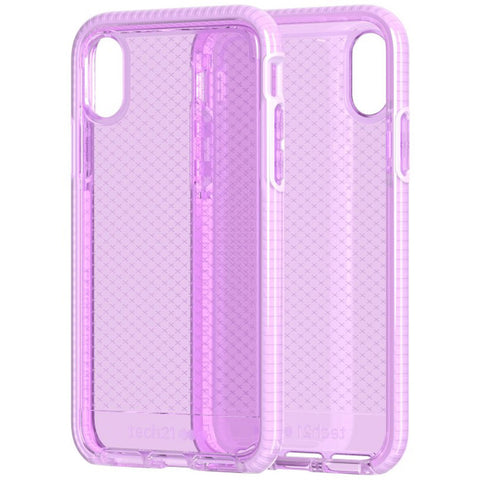 shop clear transparent pink case for iPhone Xs & iPhone X. Australia Tech21 genuine case