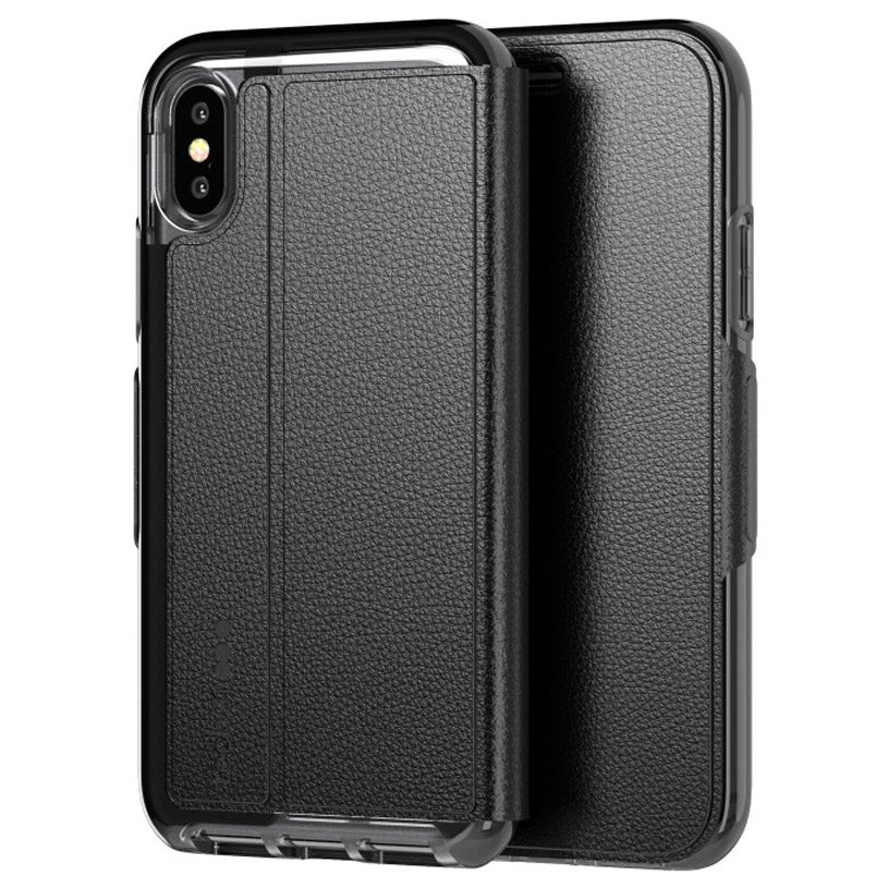 iPhone Xs & iPhone X Tech21 Folio Case black with free shipping & Authentic Australia Stock