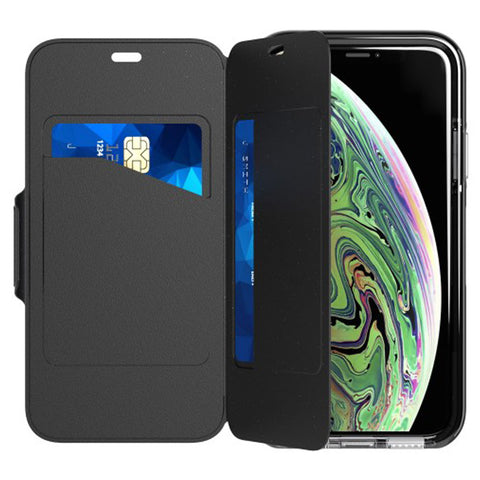 cars storage folio style case for iPhone Xs & iPhone X from Tech21 Australia