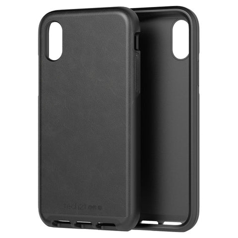 stylish black casual business case from Tech21 Australia for iPhone Xs & iPhone X