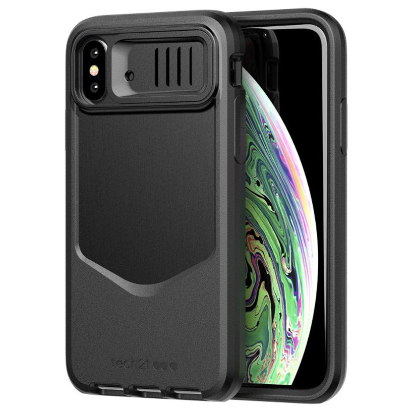 huge discount 5d334 ad9f8 TECH21 EVO MAX RUGGED PROTECTIVE FLEXSHOCK CASE FOR IPHONE XS/X - BLACK