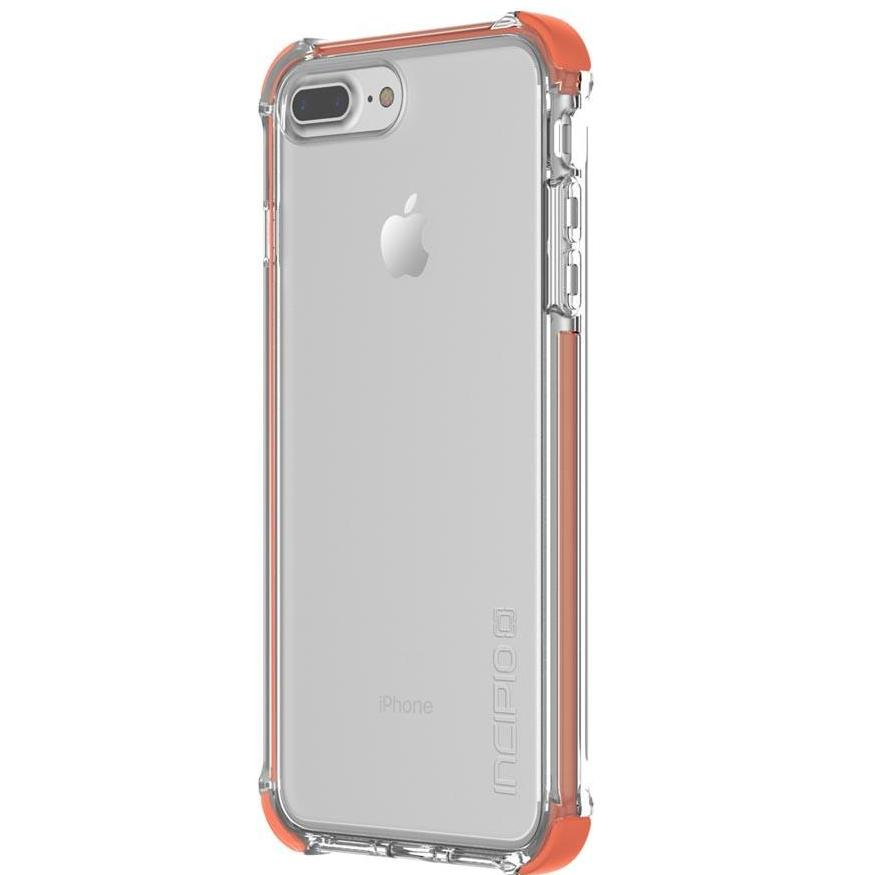 Incipio Reprieve [Sport] Rugged Case for iPhone 8 Plus/7 Plus - Coral/Clear Australia Stock