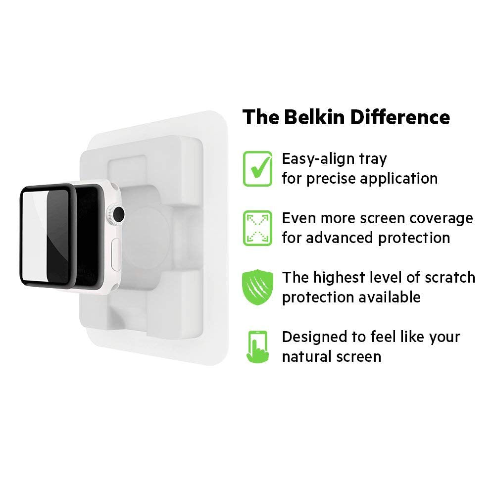 Shop Australia stock BELKIN SCREENFORCE ULTRACURVE SCREEN PROTECTOR FOR APPLE WATCH 38MM (SERIES 3/2) with free shipping online. Shop Belkin collections with afterpay Australia Stock