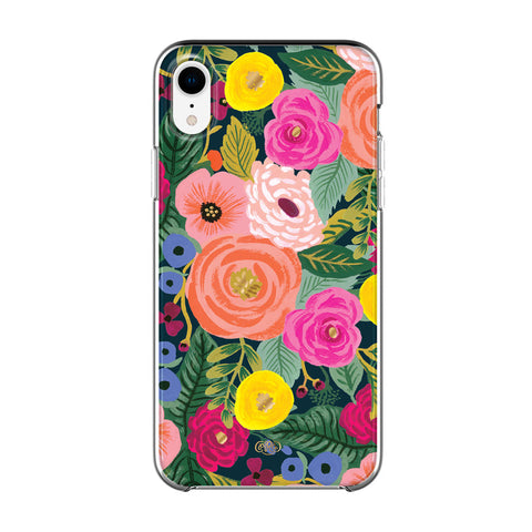 buy online colorful case with flower pattern for iphone xr. Shop from Australia biggest online store  for iPhone xr & rifle paper co. that comes with free shipping, return warranty & afterpay payment