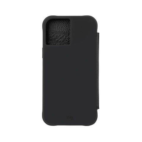 "Buy New iPhone 12 Mini (5.4"") Wallet Folio Case From CASEMATE - Black Online local Australia stock."