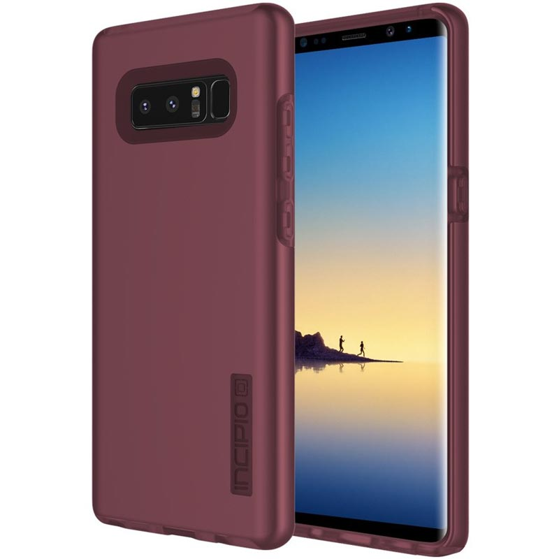 buy INCIPIO DUALPRO DUAL-LAYER SLIM PROTECTIVE CASE FOR GALAXY NOTE 8 - MERLOT australia Australia Stock